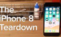 ¡Así es el iPhone 8 por dentro!