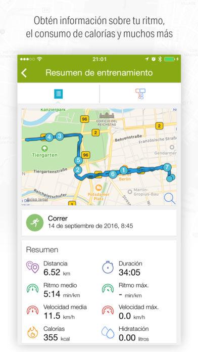 Apps para senderistas