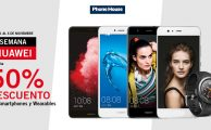 ¡Solo hasta el 6 de noviembre descuentos de hasta el 50% en smartphones y wearables Huawei!