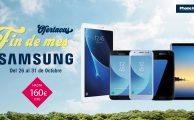 ¡Ofertacas Fin de mes con descuentos de hasta 160€ en dispositivos Samsung hasta el 31 de octubre!