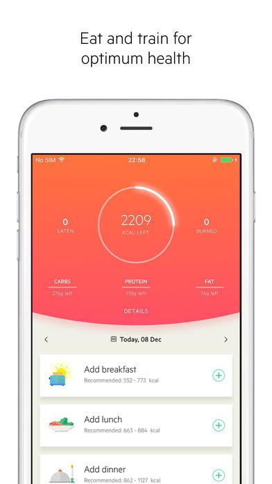 Apps vida saludable