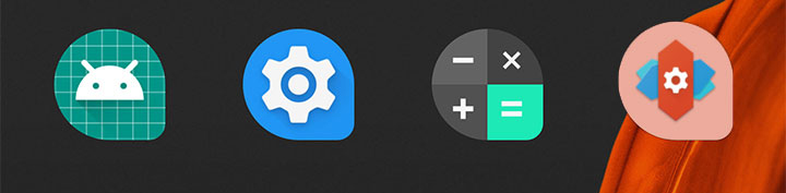 Iconos adaptativos en Nova Launcher 5.5