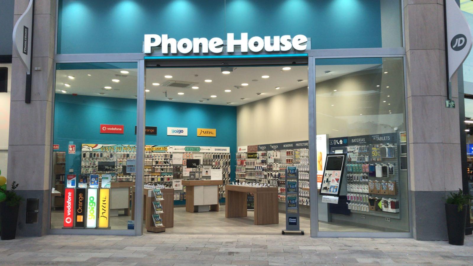 Nueva tienda phone house demo store en las palmas blog - Showroom las palmas ...
