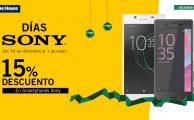 ¡Solo del 30 al 1 de enero descuento exclusivo online de un 15% en smartphones Sony!