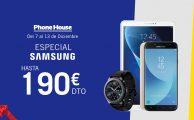¡Solo del 7 al 13 hasta 190€ de descuento en smartphones, tablets y wearables Samsung!