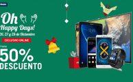 ¡Vuelven los Oh Happy Days hasta el 28 con descuentos exclusivos online de hasta 50% en smartphones, tablets, wearables y electrónica!