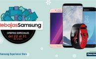 ¡Ven a tu tienda Samsung y disfruta de ofertas especiales en smartphones, wearables y accesorios hasta el 31 de enero!