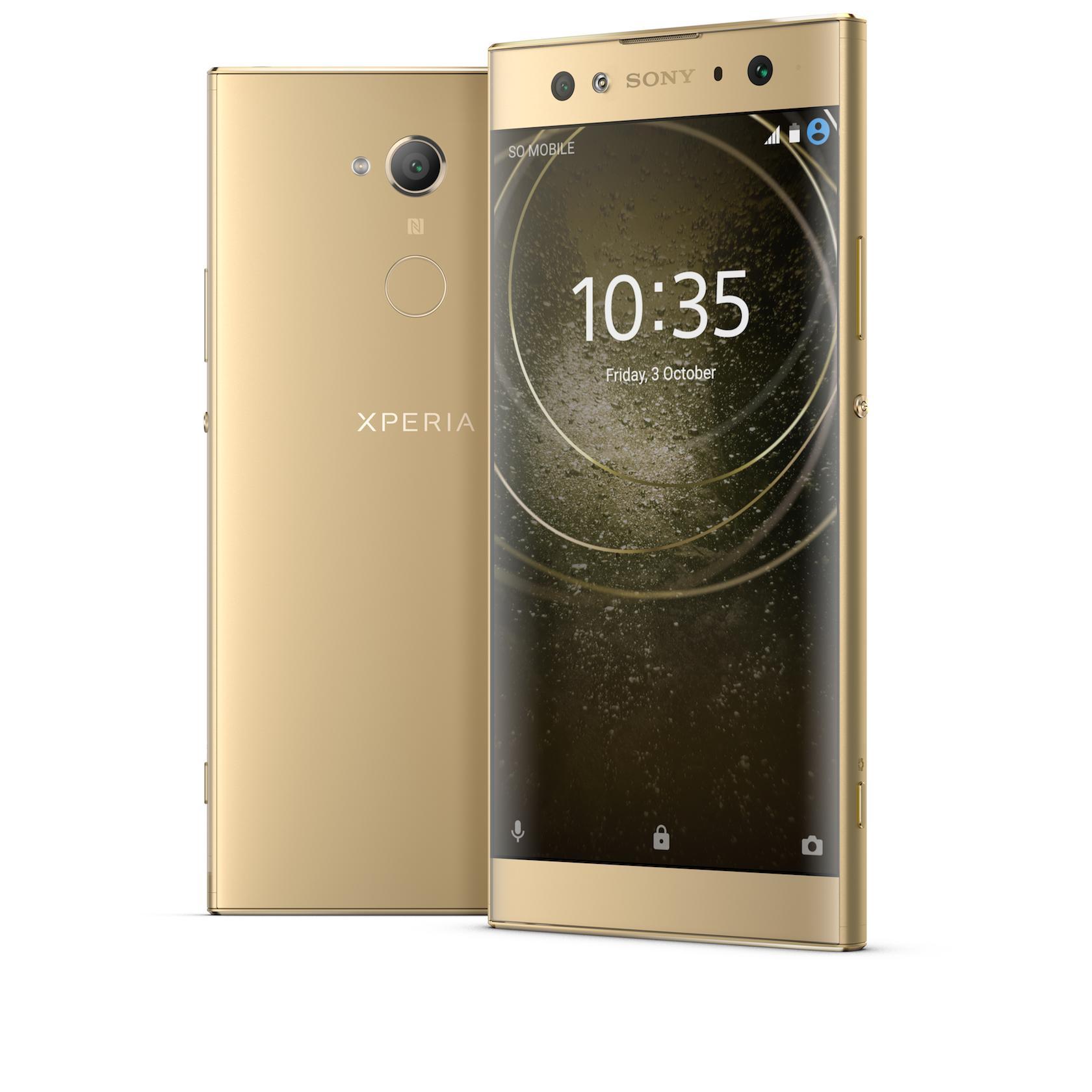 Sony Xperia XA2 Ultra_gold