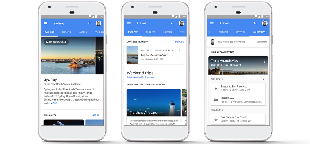 Reservar hoteles Google