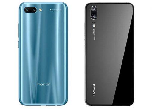 Cámaras del Honor 10 y el Huawei P20