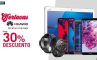 ¡Solo hasta el 31 de mayo Semana Especial Huawei con descuentos de hasta el 30%!