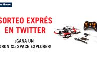 ¡Participa en #PorTuCaraDeMartes y gana un Dron X5 Space Explorer!