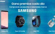 ¡Gana premios cada día comprando accesorios o wearables Samsung!