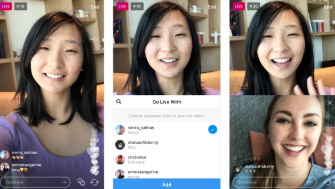 Video chat en Instagram
