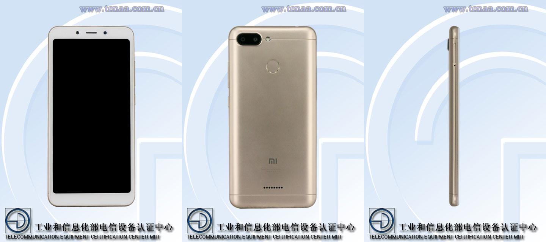 Diseño del Xiaomi Redmi 6