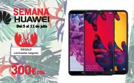 ¡Solo del 5 al 11 de julio Especial Huawei con descuentos en smartphones de hasta 300€!