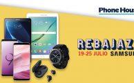 ¡Solo del 19 al 25 de julio especial Rebajazo Samsung con descuentos de hasta el 40% en libres!