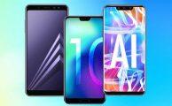 Samsung Galaxy A8, Honor 10 o Huawei Mate 20 Lite, ¿cuál comprar?