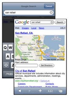 Google, optimizado para iPhone y Android