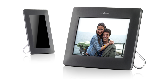 Sony Ericsson IDP-100, el marco digital perfecto para tu móvil
