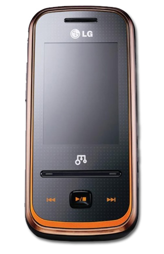 LG GM310 Andante, diseñado para la música