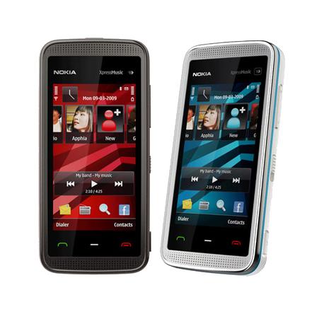 Nokia 5530 Xpress Music, el nuevo táctil de Nokia