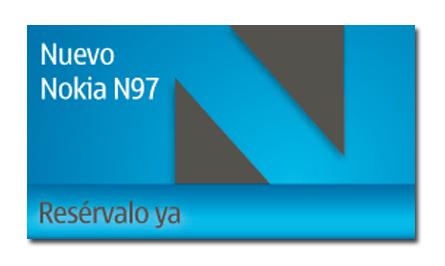 Reserva ya tu Nokia N97!