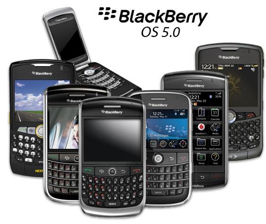 Blackberry OS5