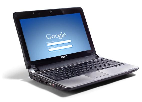 Acer prepara un Netbook con Chrome OS