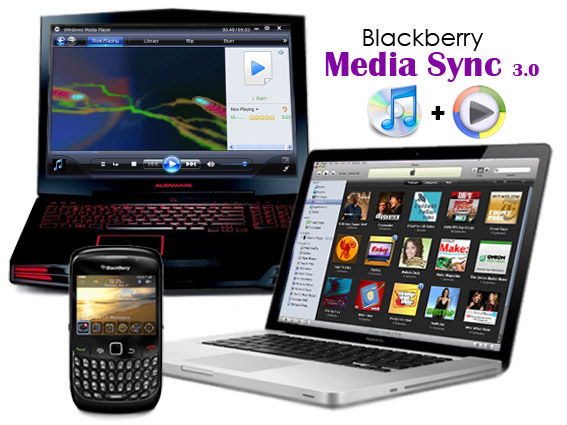 Blackberry MediaSync