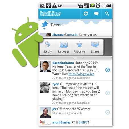 Android Twitter
