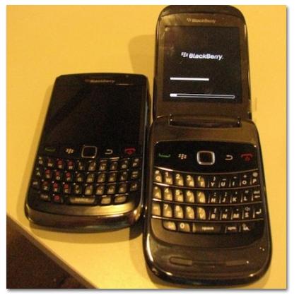 Primer vídeo del nuevo Blackberry 9670