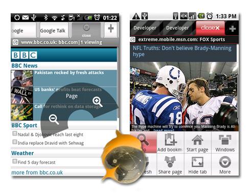 Dolphin HD. Navegador Web perfecto para Android