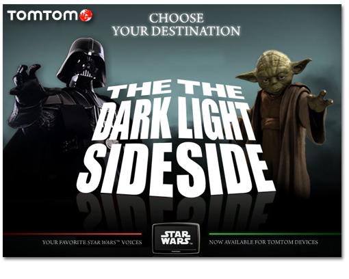Tom Tom te lleva a tu destino con Star Wars