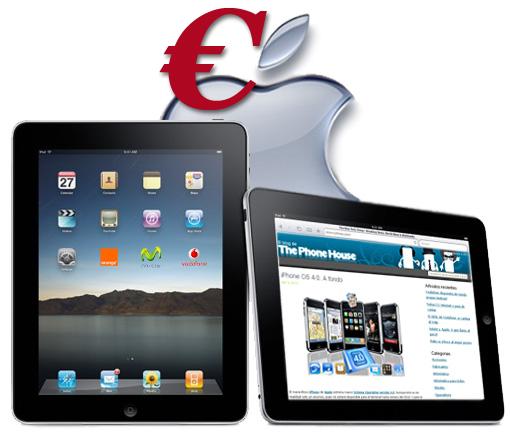 Apple iPad. Tarifas Vodafone, Orange y MoviStar España