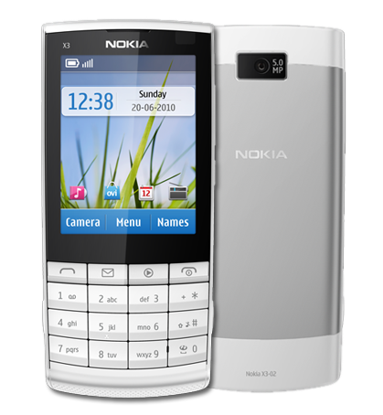 Nokia X3-02. Combinado Touch and Type