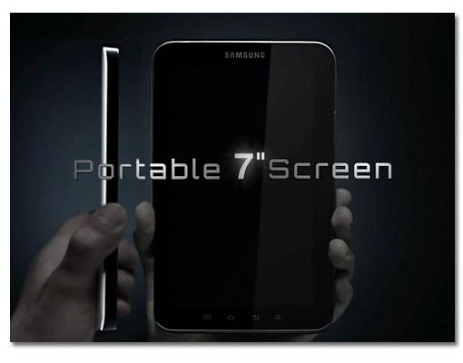 Samsung Galaxy Tab oficial