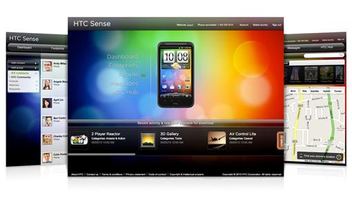 HTCSense com