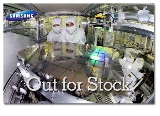 Samsung AMOLED stock