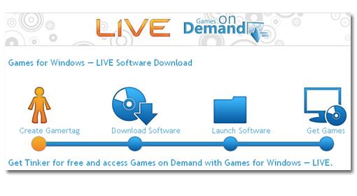 Microsoft va a lanzar juegos bajo demanda por la red