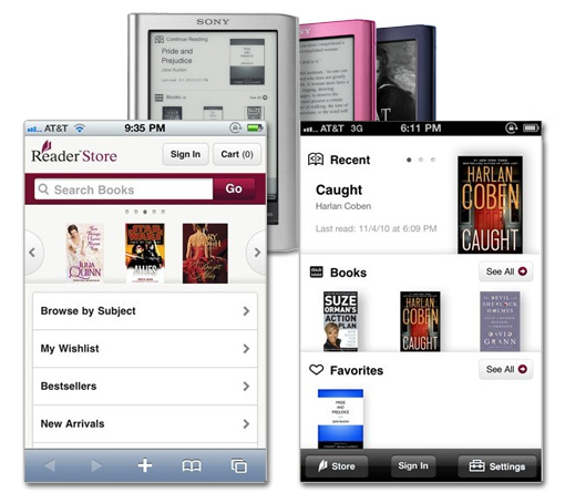Sony Reader Library