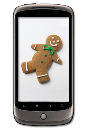 Google Nexus One Gingerbread
