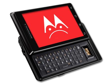 Motorola Milestone froyo