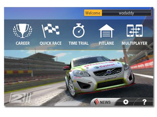 Real Racing 2 act