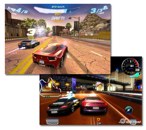 asphalt6 game