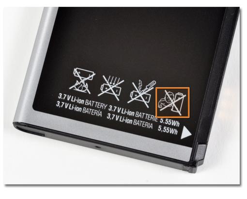 iFixit Nexus S battery