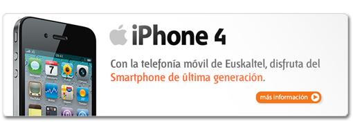 iphone4 euskaltel