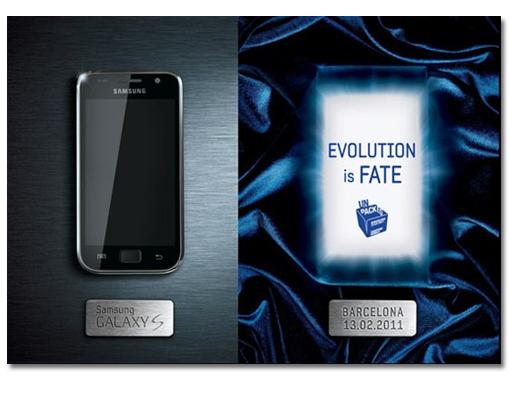 Samsung Galaxy S2 presentacion