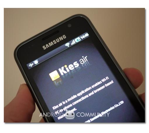 Samsung Kies Air