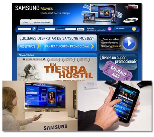 Samsung Movies lanzamiento